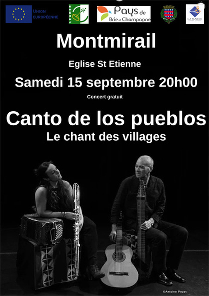 Journées du patrimoine 2018 - Concert de musique argentine, découverte du patrimoine de l'église