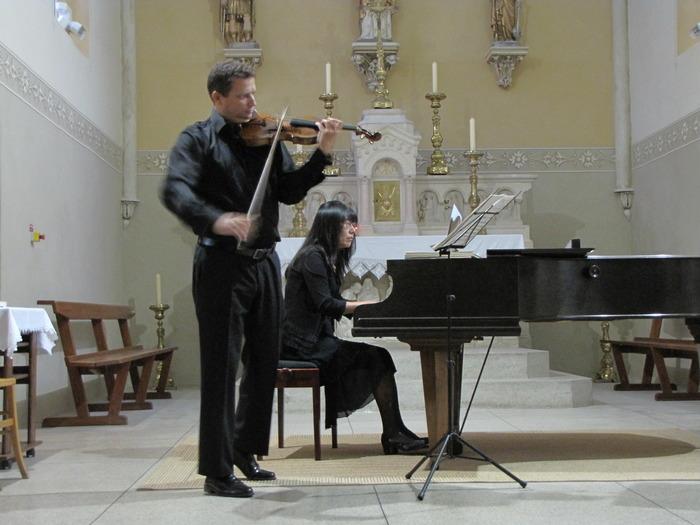 Journées du patrimoine 2018 - Concert de musique classique dans l'église de Tramolé.