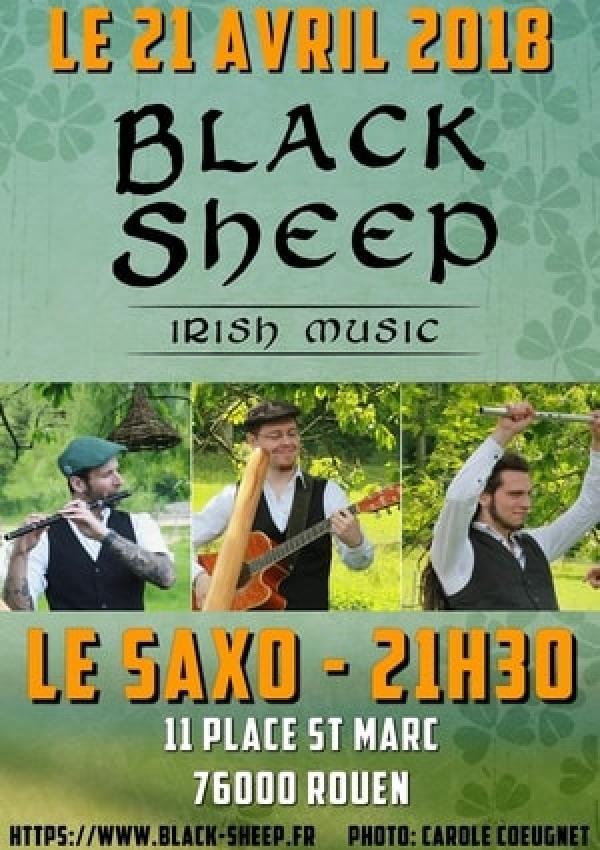 Concert de musique irlandaise à Rouen