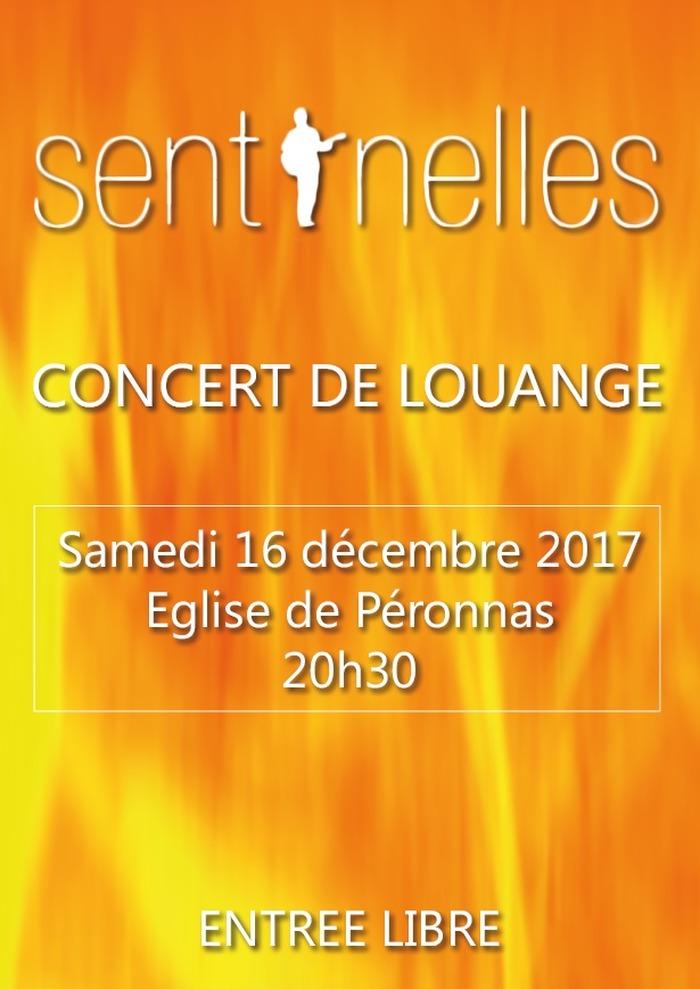 Concert de Sentinelles à Péronnas