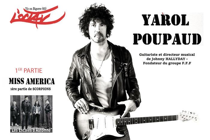 Concert de Yarol Poupaud & Miss America
