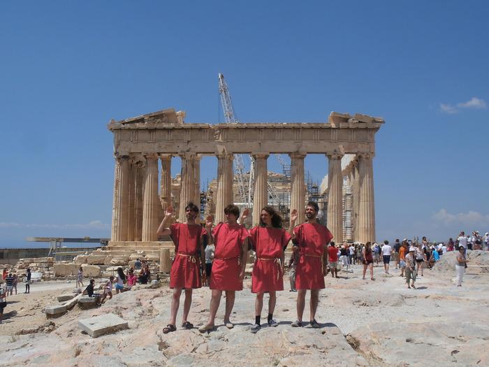 Journées du patrimoine 2018 - Concert des Agamemnonz