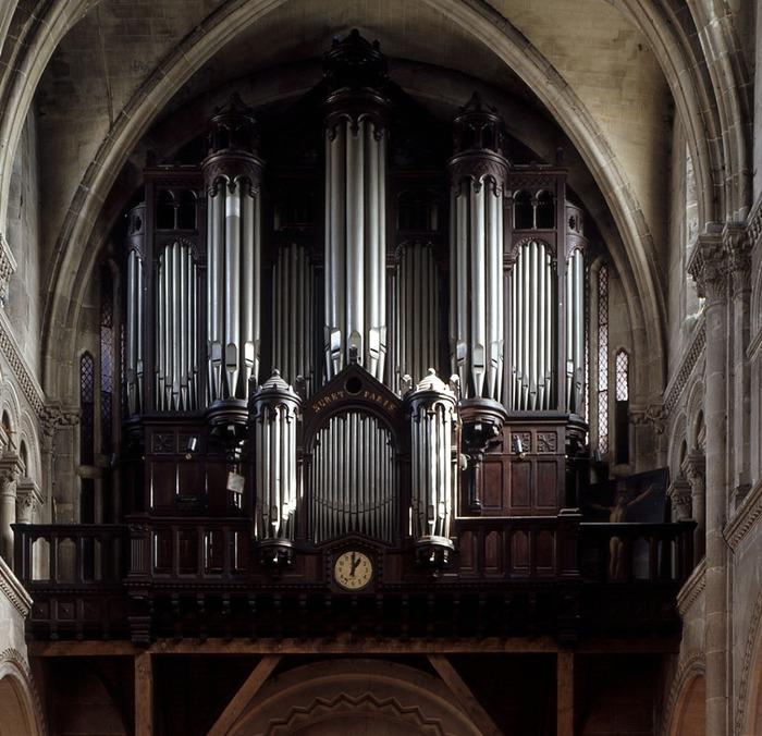 Crédits image : Grand orgue de tribune de la basilique Saint Denys, copyright Ville d'Argenteuil