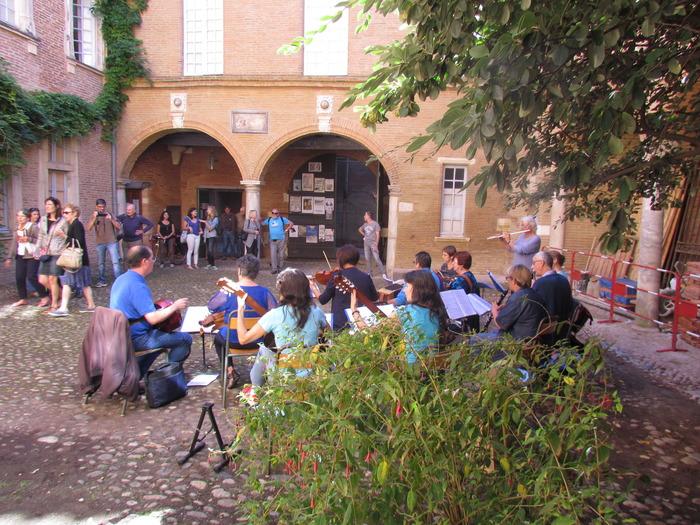 Journées du patrimoine 2018 - Concert du groupe Garonnette