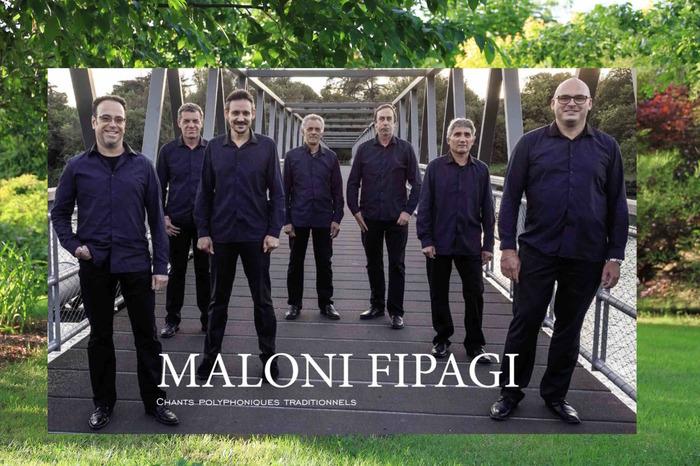 Journées du patrimoine 2017 - Concert du groupe polyphonique drômois MALONI FIPAGI au jardin.