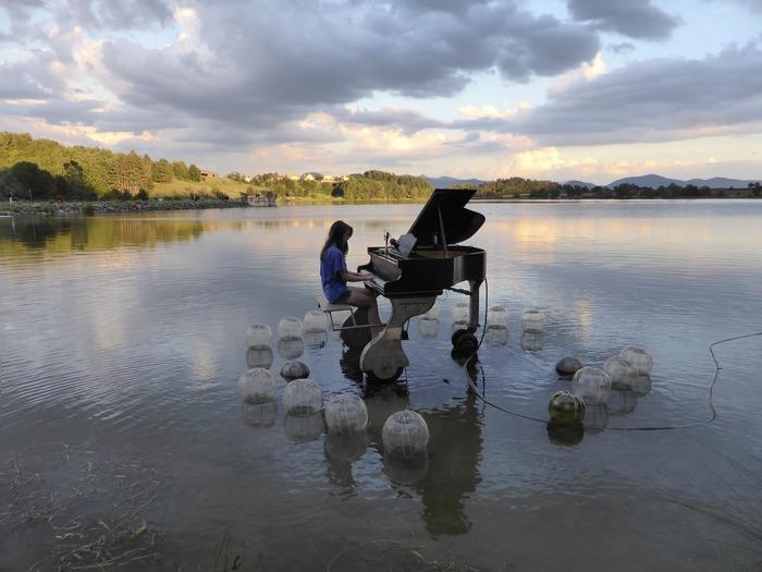 Journées du patrimoine 2017 - Concert du PianO du Lac avec Delphine Coutant sur le Site de la Forge Neuve à Moisdon-la-RIvière