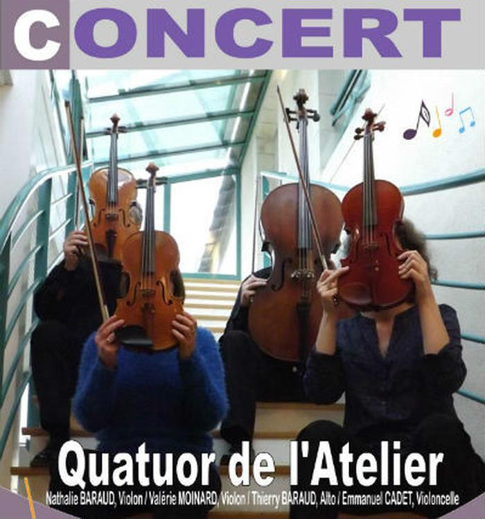 Journées du patrimoine 2018 - Concert du Quatuor à cordes
