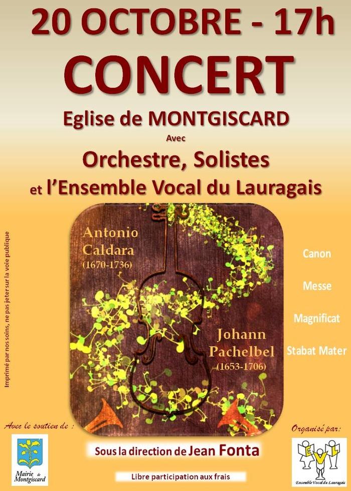 Concert Ensemble vocal du lauragais