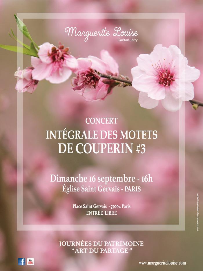 Journées du patrimoine 2018 - Concert intégrale des motets de F. Couperin