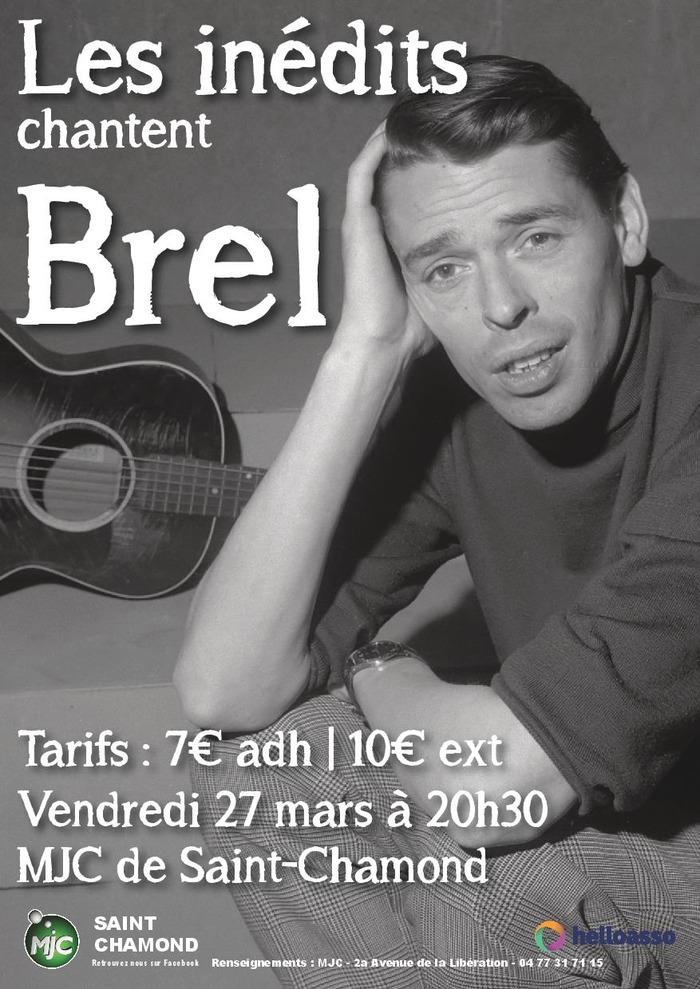 Concert : les inédits chantent Brel