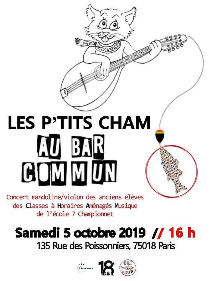 Concert : les P'tits Cham