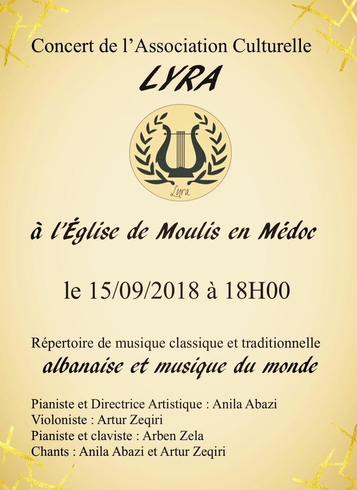 Journées du patrimoine 2018 - Concert Lyra