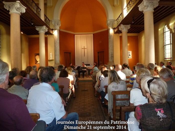 Journées du patrimoine 2017 - Concert musique des Andes