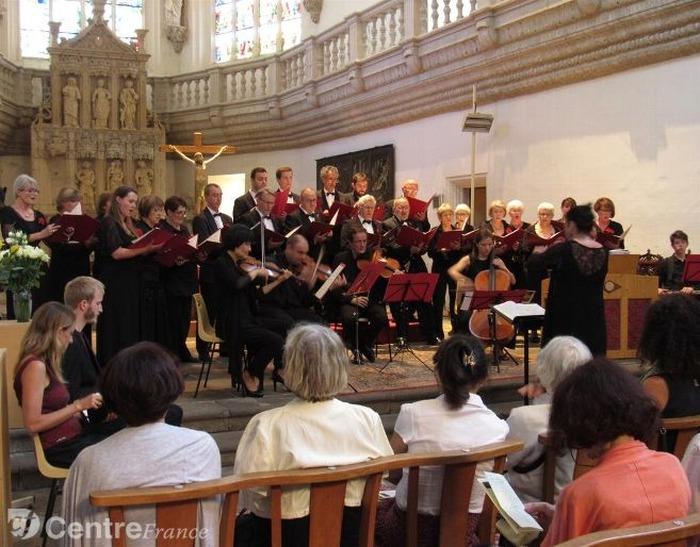 Journées du patrimoine 2018 - Concert de musique spirituelle baroque allemande.