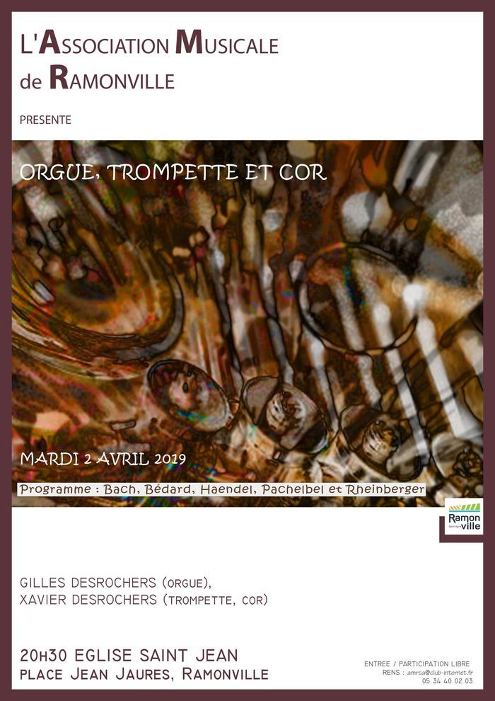 Concert Orgue, Trompette et Cor