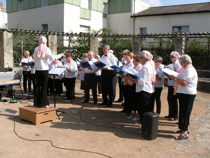 Journées du patrimoine 2018 - concert par la Chorale du Vignoble