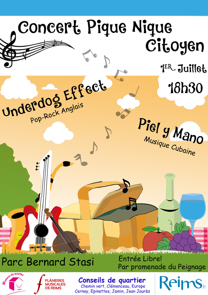 Concert Pique-Nique Citoyen