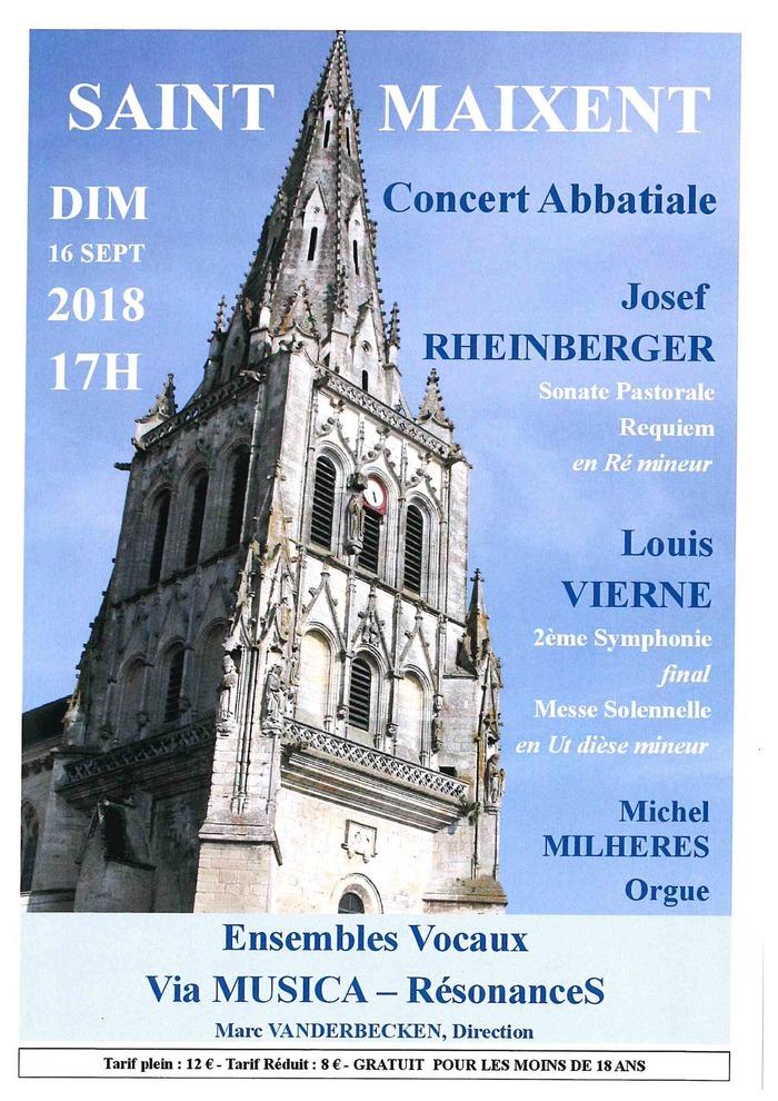 Journées du patrimoine 2018 - Concert pour choeur mixte et orgue