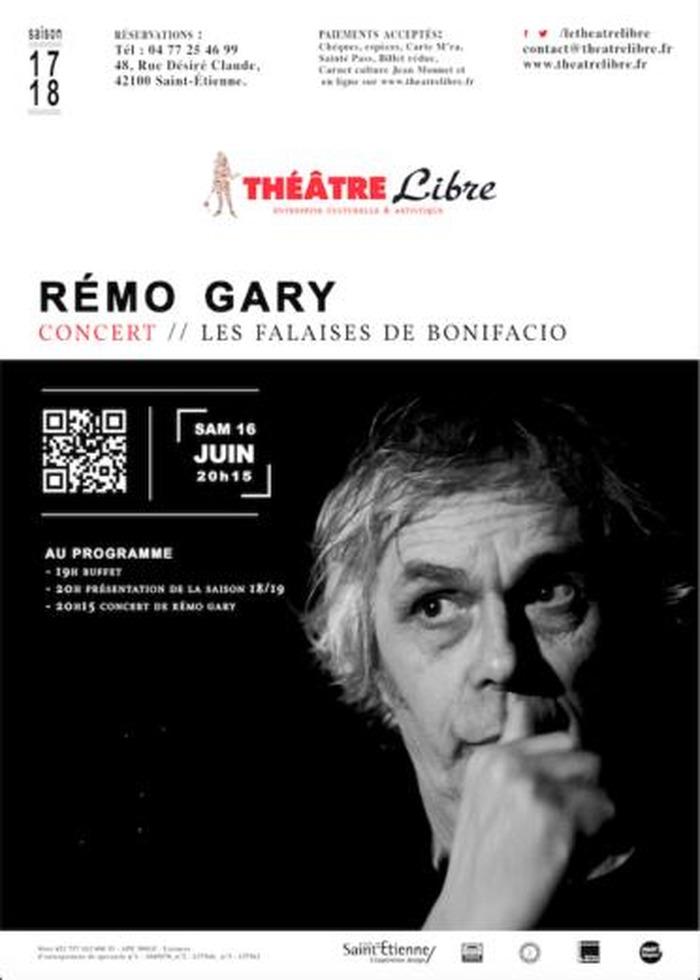 (concert) Rémo Gary Les falaises de Bonifacio- Soirée de clôture