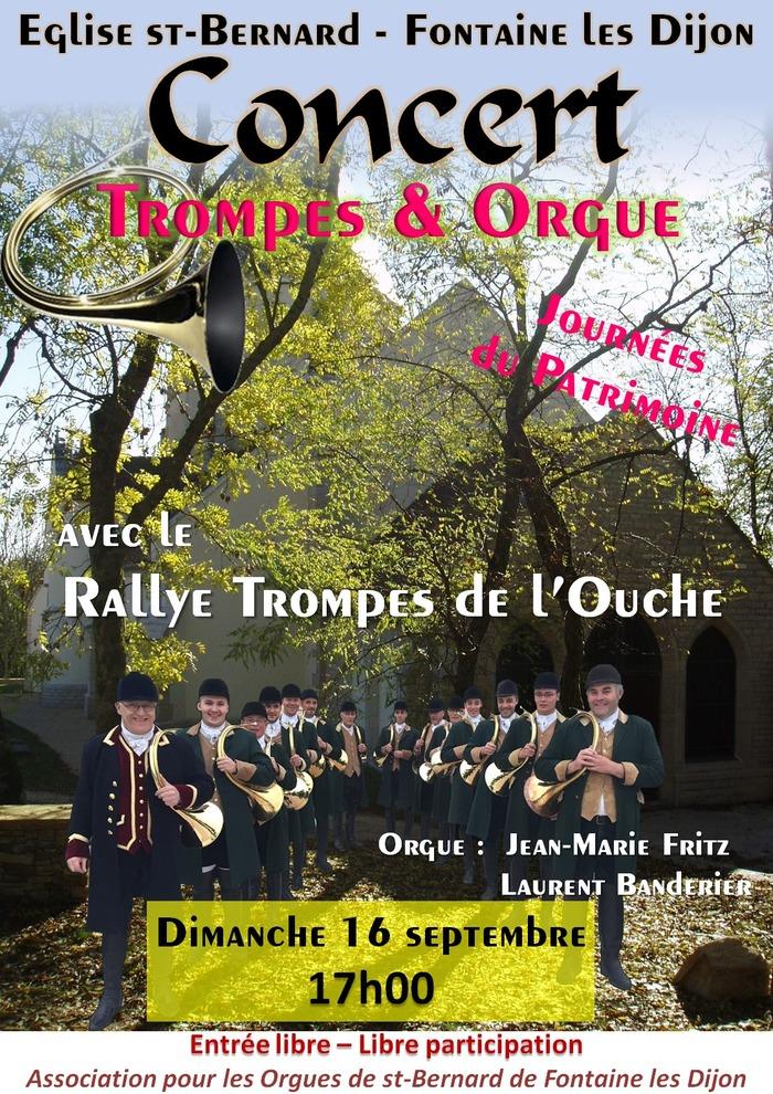 Journées du patrimoine 2018 - Concert Trompes et Orgue