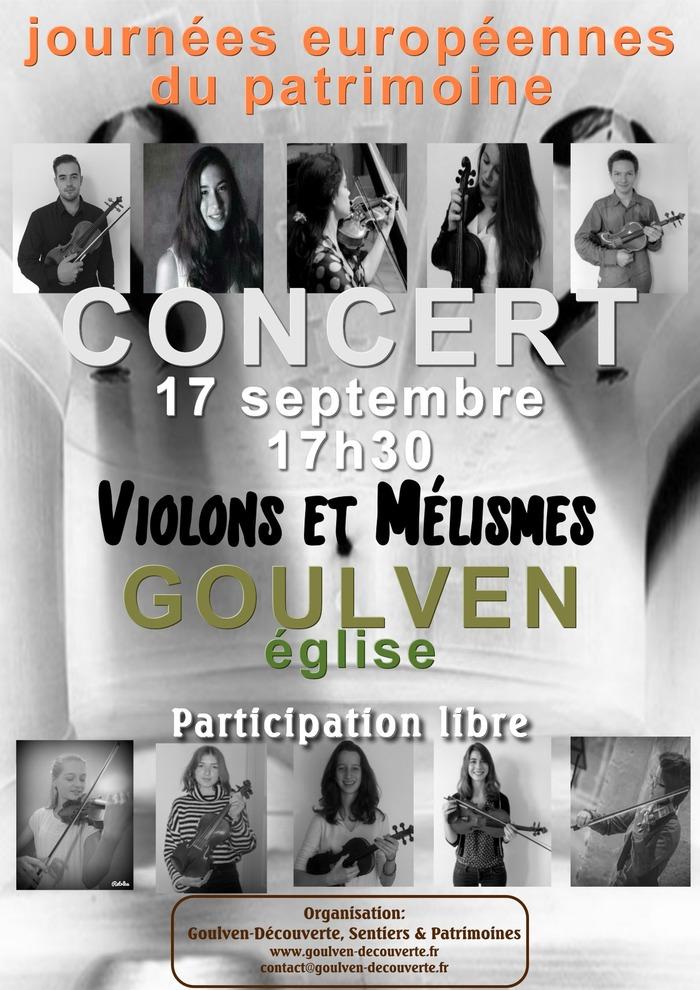 Journées du patrimoine 2017 - Concert
