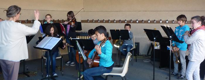 Journées du patrimoine 2017 - Concert de l'orchestre à cordes du Conservatoire de Musique du Bocage Bressuirais