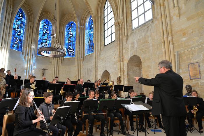 Journées du patrimoine 2018 - Concert de l'harmonie du conservatoire municipal de Senlis