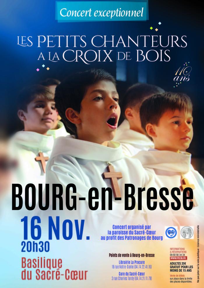 Concerts des Petits Chanteurs à la Croix de Bois