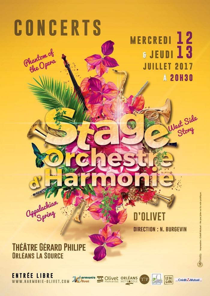 Concerts du Stage d'Orchestre d'Harmonie d'Olivet