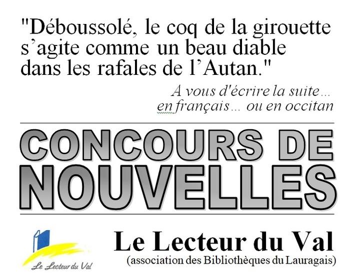 Concours de nouvelles, en français ou en occitan, jusqu'au 16 février 2018