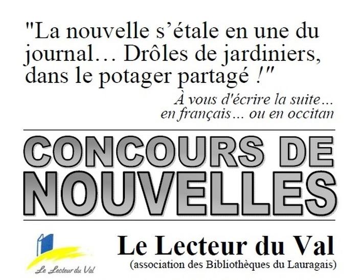 Concours de nouvelles, en français ou en occitan, jusqu'au 6 février 2020
