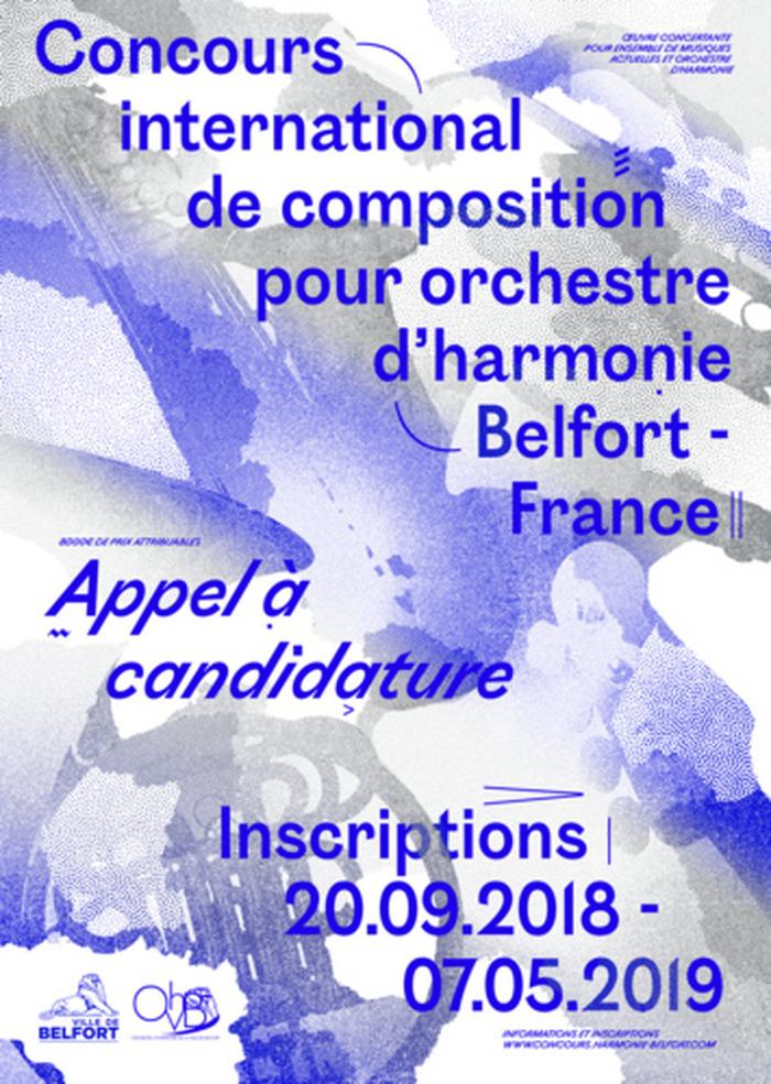 Concours international de composition pour orchestre d'harmonie de Belfort