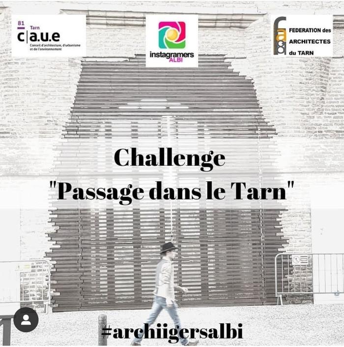 1er évènement lié à la manifestation Parlons Architecture avec le CAUE, @igersalbi et @architectestarnais.