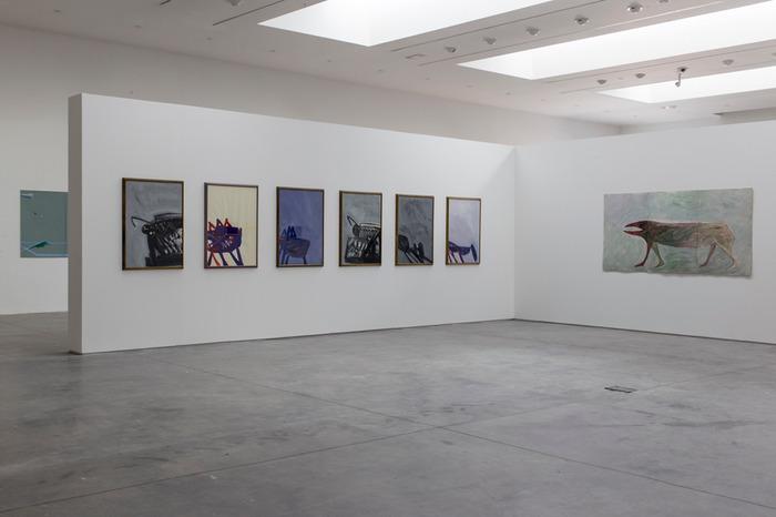 Crédits image : vue de l'exposition Emmanuel Pereire. Cl. Fanny Trichet