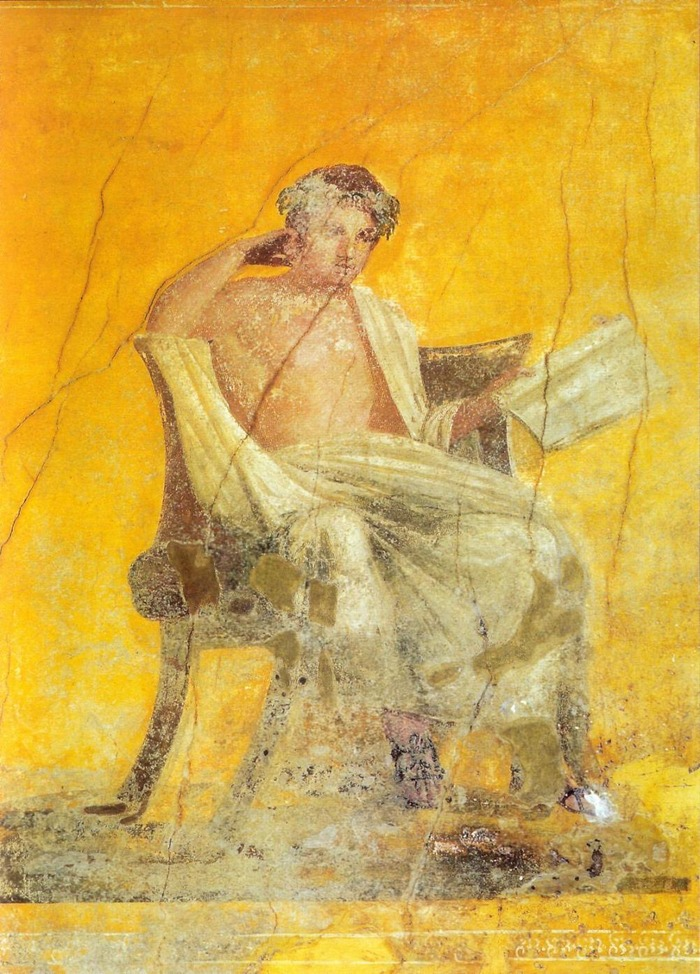 Crédits image : Fresque Pompéi