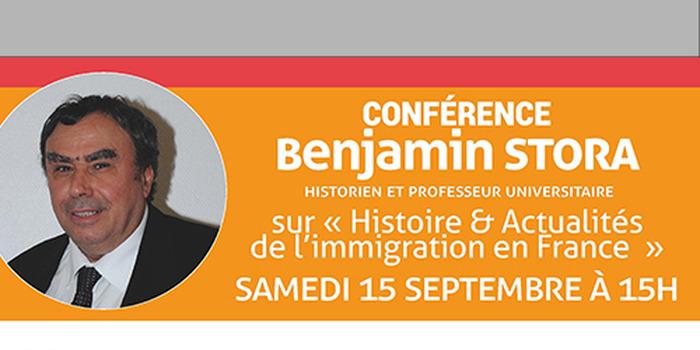 Journées du patrimoine 2018 - Conférence de Benjamin Stora