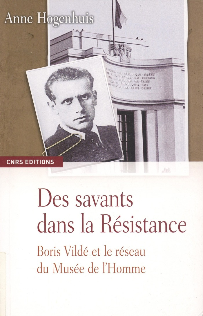 Journées du patrimoine 2018 - Conférence de Anne Hogenhuis : Boris Vildé et Fontenay-aux-Roses