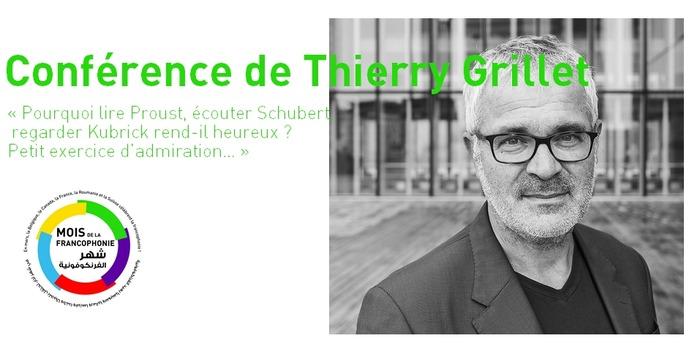 Conférence de Thierry Grillet