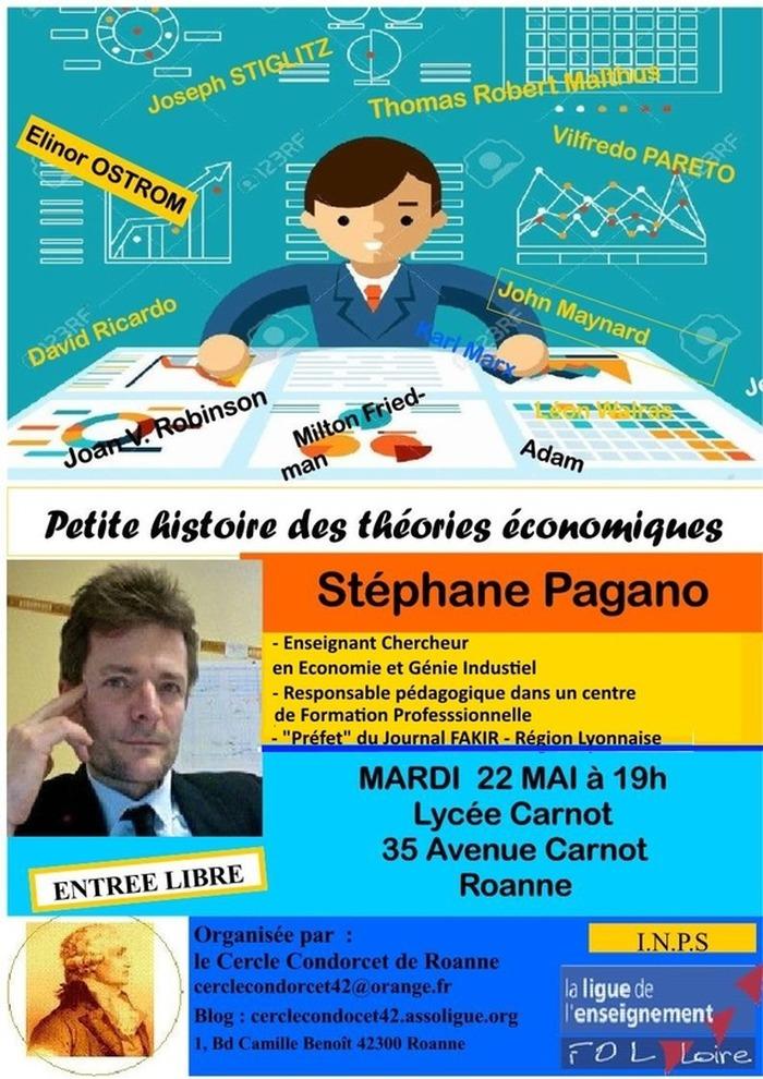 (conférence-débat) Petite histoire des théories économiques avec S. PAGANO