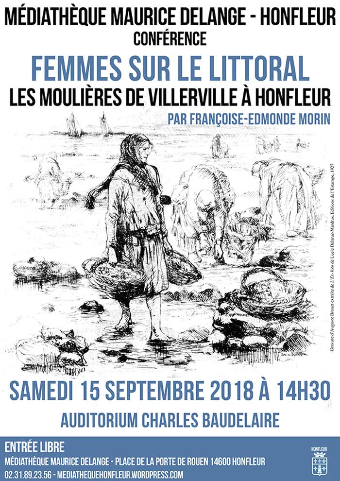 Journées du patrimoine 2018 - Conférence - Femmes sur le littoral: les moulières de Villerville à Honfleur