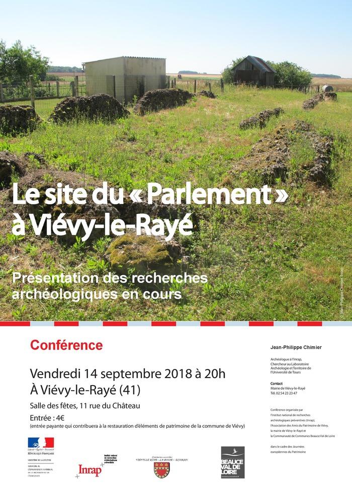 Journées du patrimoine 2018 - Conférence « Le site du