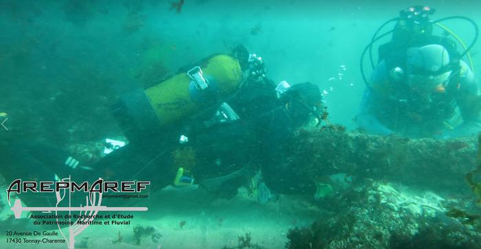 Journées du patrimoine 2018 - Conférence - Les opérations de prospections sous-marines sur les sites de la bataille des brûlots et d'une épave au large de l'île de Ré.