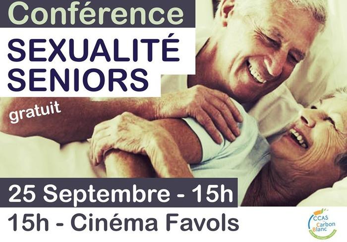 Conférence : Sexualité Seniors