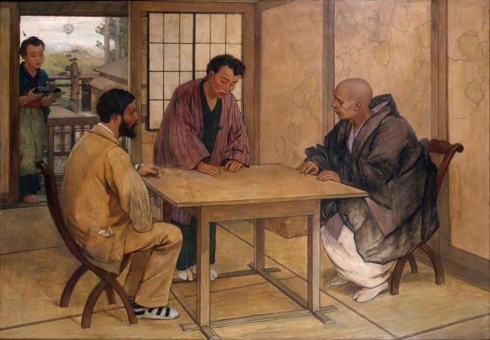 Journées du patrimoine 2018 - Conférence sur Félix Regamey, portraitiste de Pasteur et amateur du Japon