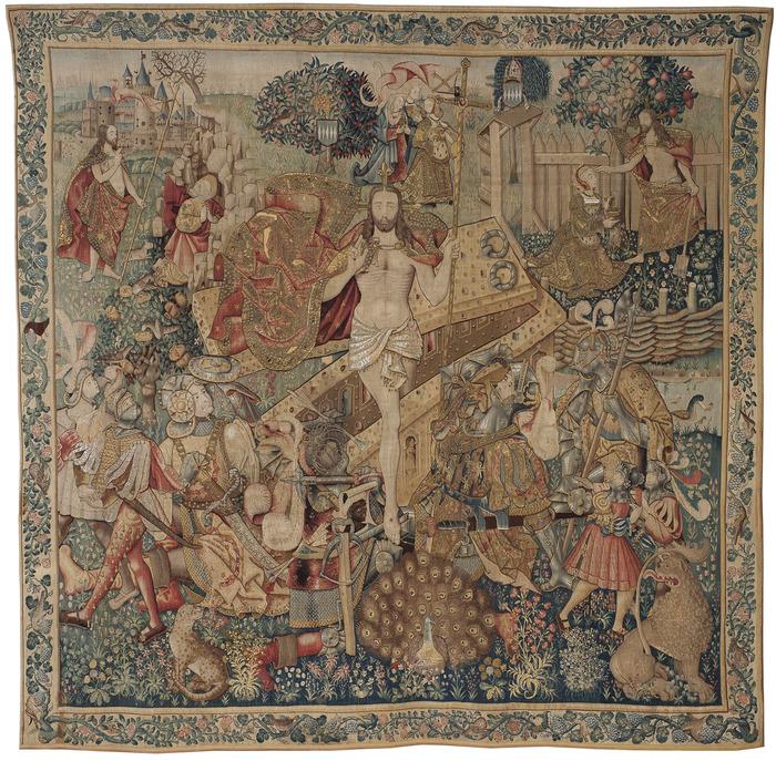 Journées du patrimoine 2018 - Conférence sur la restauration des tapisseries flamandes de La Chaise-Dieu.