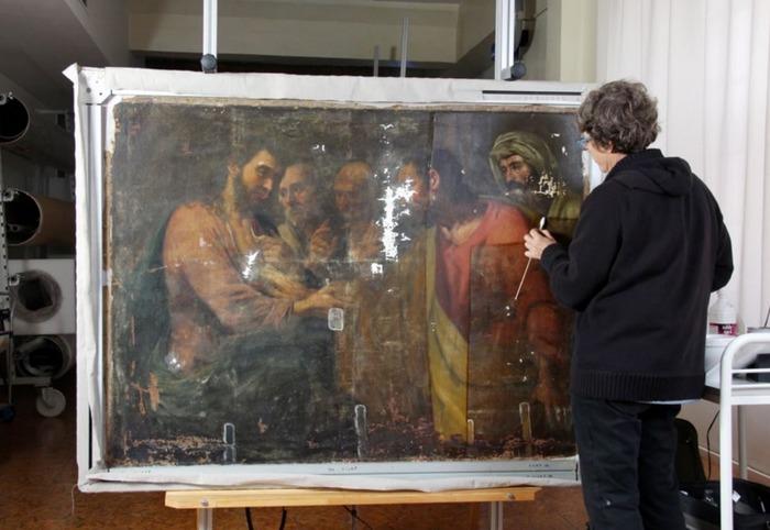 Journées du patrimoine 2018 - Conférence sur la restauration du tableau du XVIIe siècle