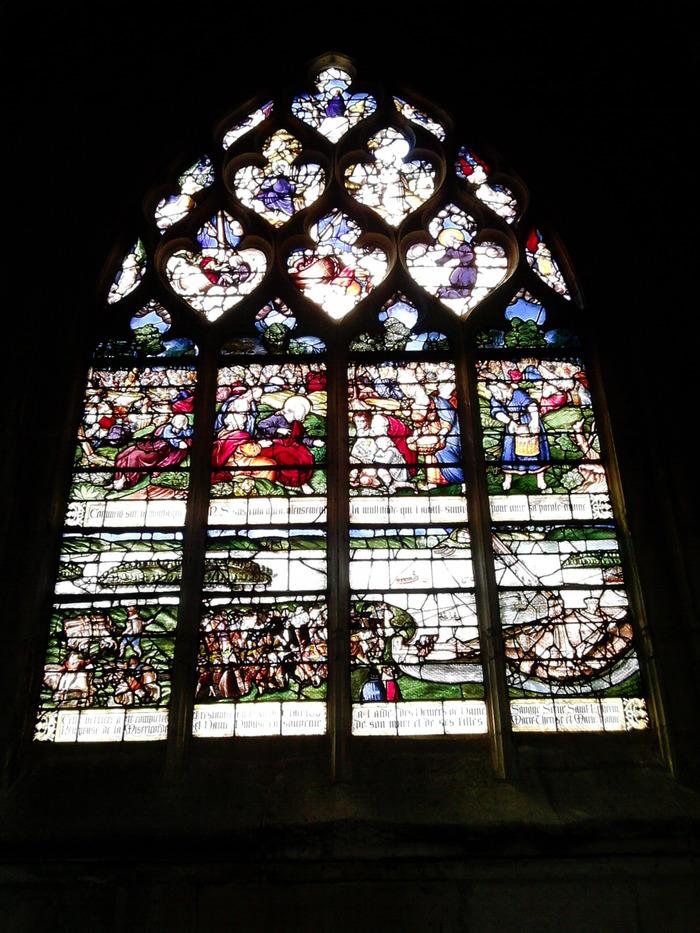 Journées du patrimoine 2018 - Conférence sur le patrimoine des vitraux de Notre-Dame des Arts