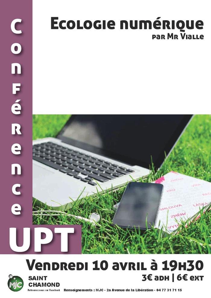 Conférence UPT : écologie numérique