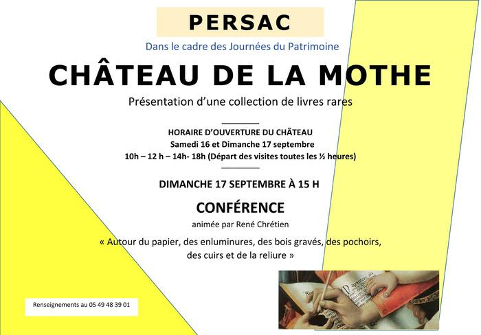 Crédits image : © Château de La Mothe
