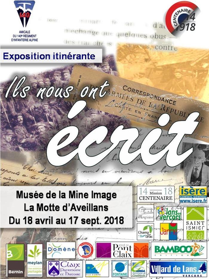 Journées du patrimoine 2018 - Conférence «La Matheysine se souvient 1918-2018».